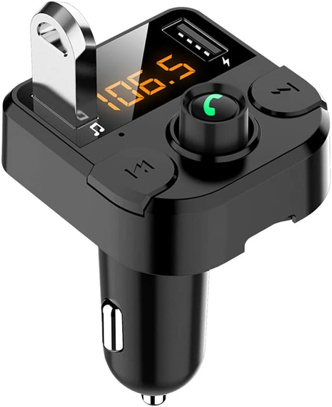 Wireless In-Car Bluetooth Car Kit FM Transmitter MP3 Radio Adapter 2USB Charger