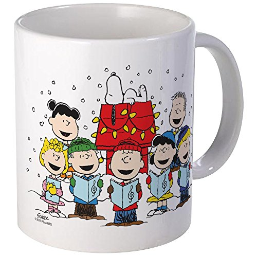 CafePress Peanuts Gang Christmas Unique Coffee Mug, Coffee Cup -