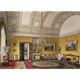Canvas Prints Of Oil Painting 'Hau Edward Petrovich,The First Reserved Apartment,The Yellow Salon Of Grand Princess Maria Nikolayevna,1866' 20 x 28 inch / 51 x 70 cm , Polyster Canvas, Bar, decoration