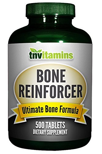 Bone Reinforcer - Highly Absorbable Calcium/Magnesium Plus Boron - 500 Tablets by TNVitamins