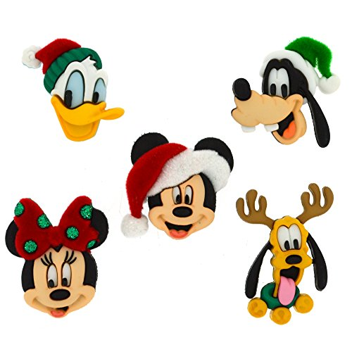Jesse James  Dress It Up Buttons Disney Christmas Collection