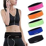 GEARWEAR Running Belt Waist Pack Bag for iPhone 8 X 7 Plus 6s Women and Men Runner Workout Belts...