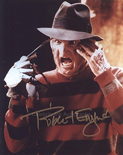 Robert Englund as Freddy Krueger (Nightmare On Elm Street) Autograph