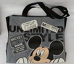 Disney Mickey Mouse Multi-purpose Shopping Bag Tote Purse Handbag.