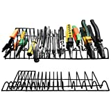 Urban Deco Pliers Tool Box Organization Racks|2 Pack (16 Slots Each) Black Plier Holder Organizer| Storage Rack For…