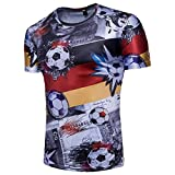 Men's GermanShirt World Cup 2018 Soccer Jersey Shirt (XXL)