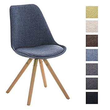 Clp design retro stuhl pegleg, holzgestell natura, esszimmer stuhl ...