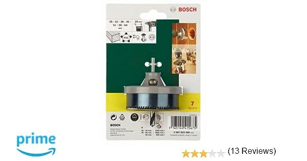 Bosch 2607019449 - Set con 7 coronas: Amazon.es: Bricolaje y herramientas