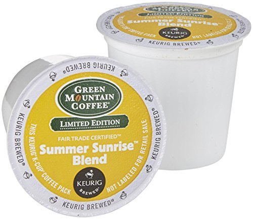 Green Mountain Coffee Summer Sunrise Blend – 18 ct
