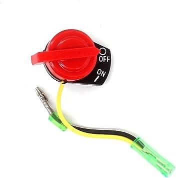 1 Stück Stopschalter Ein//Aus Schalter ein Kabel passend Honda GX270