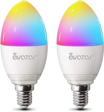 Bombilla Inteligente E14 WIFI de 5W LED Compatible con Alexa ...