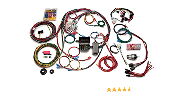 painless performance 20121 direct fit chassis harness for 1967-1968 ford  mustang - 22 circuits: automotive - amazon.com  amazon.com