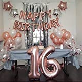 Sweet 16 Birthday Decorations WITH Photo Booth