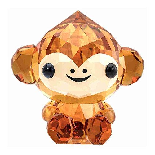 Swarovski Crystal Zodiac-Cheerful Monkey Figurine 5302555 - Crystal Monkey