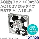 オムロン(OMRON) R87F-A1A15LP AC軸流ファン 100V (120×t38 端子タイプ) (回転数 50Hz 2100回) NN