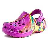 aah! Boys Girls Unisex Colg Sandals, Fuchsia, 10 M US Toddler