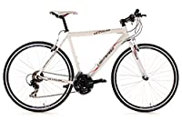 KS Cycling Fahrrad Fitnessbike Alu Lightspeed RH 60 cm, Weiß, 28, 278B