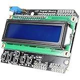 LCD Keypad Shield LCD1602 Module Display Board for Arduino