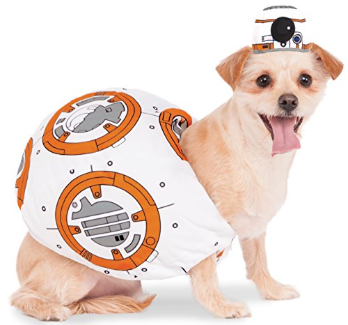 [Rubies Costume 580417_XL Star Wars VII: The Force Awakens BB-8 Pet Costume, X-Large] (Bb 8 Dog Costume)