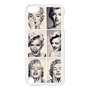 Ipod Touch 5 2D Customized Hard Back Durable Phone Case with Marilyn Monroe Image