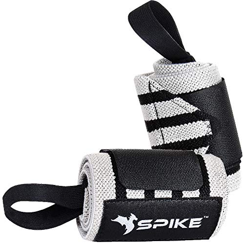Spike Wrist Support Gym Band Strap for Weightlifting Pain Relief with Thumb Loop Grip for Both Men and Women Price & Reviews