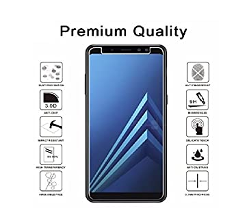 SmartLike Tempered Glass for Samsung Galaxy A8 Plus Screen guards