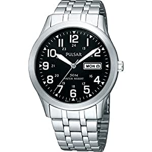 Pulsar PXN181X1 Men's Analogue Stainless Steel Bracelet Watch