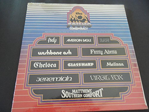 MCA SOUND CONSPIRACY Comp PROMO LP -Raw- Glass Harp - Glasses Conspiracy