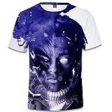 SERAPHY Unisexe 3D Printed Summer T-Shirt Xxxtentacion Boys Hip-hop Top Shirt Q0771 M