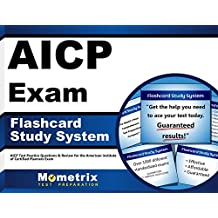 AICP Exam Flashcard Study System: AICP Test Practice Questions & Review for the American Institute of Certified...