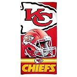 "McArthur Kansas City Chiefs 30"" x 60"" Fiber Beach Towel Revolution Helmet New 2018 Design"