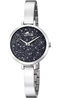 Lotus Watches Reloj Análogo clásico para Mujer de Cuarzo con Correa en Acero Inoxidable 18561/