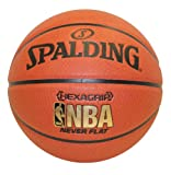 Spalding NeverFlat NBA Hexagrip Indoor/Outdoor Basketball, 29.5-Inch