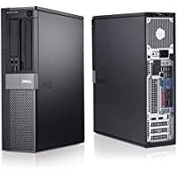 Dell Optiplex Desktop Computer 2.4 GHz Core 2 Quad PC, 4GB, 1TB HDD, Windows 10 Home 64 bits, WIFI (Certified Refurbished)