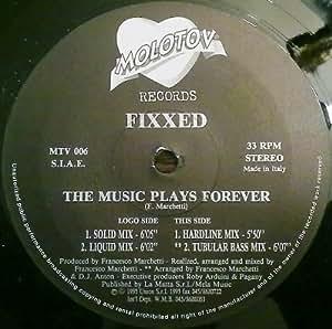 6860e9f2cd Fixxed - Fixxed - The Music Plays Forever - Molotov Records - MTV ...