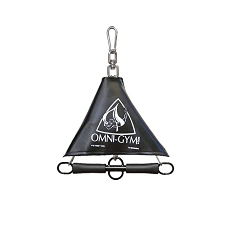 Omni Gym Spring Trapeze – Add Bounce and 360 Swivel To Your Yoga Swing and Suspension Training Routine
