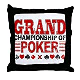 CafePress Grand Championship Of Poker - Decor Throw Pillow (18''x18'')