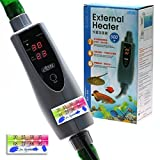 150w/300w/500w In-Line External Heater AQUARIUM HEATER - 150/300/500 WATT 1/2''-5/8'' (500 Watt 5/8'' (16/22mm) Hose)