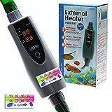 500 watt water heater - 150w/300w/500w In-Line External Heater AQUARIUM HEATER - 150/300/500 WATT 1/2