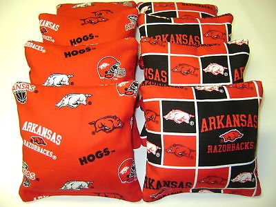 Furniture Outlet Arkansas (8 Cornhole Bean Bag Baggo Corn Hole Arkansas Razorbacks)