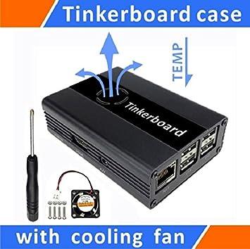 Amazon.com: Tekit Tinker tabla funda aluminio con ventilador ...