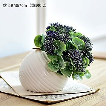 HL-HZH-Topf mit BlumenSimulation von Innen Kübelpflanzen Bonsai ...