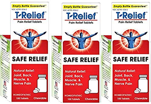 T-relief Pain Relief 100 Tablets (3 Pack)