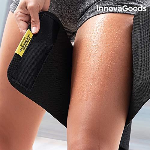 InnovaGoods IG813635 Sportb/änder mit Sauna-Effekt f/ür Arme und Beine Einheitsgr/ö/ße Schwarz