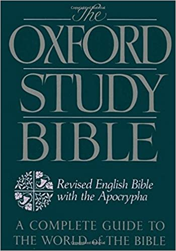 The oxford study bible revised english bible with the apocrypha m the oxford study bible revised english bible with the apocrypha 1st edition fandeluxe Image collections