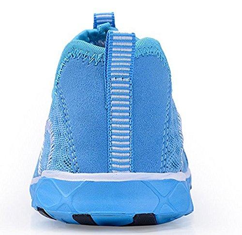 Leicht 46 Schuhe Slip Herren Wasser Blau UK 11 EU Schnelltrocknende ECOTISH Atmungsaktiv und Mesh Wasserdichtes Turnschuhe Multifunktions On qOxwxt8