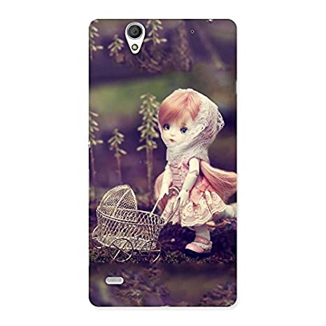 Ashro G Small Girl Back Case Cover for Sony Xperia C4