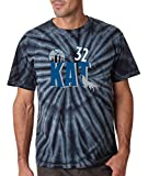 "Silo Shirts TIE DIE BLACK Karl Anthony Towns Minnesota ""KAT"" T-Shirt"