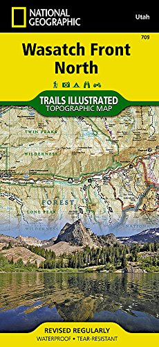 - Wasatch Front North (National Geographic Trails Illustrated Map)