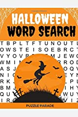 Halloween Word Search: Large Print Word Search Book For Adults Paperback